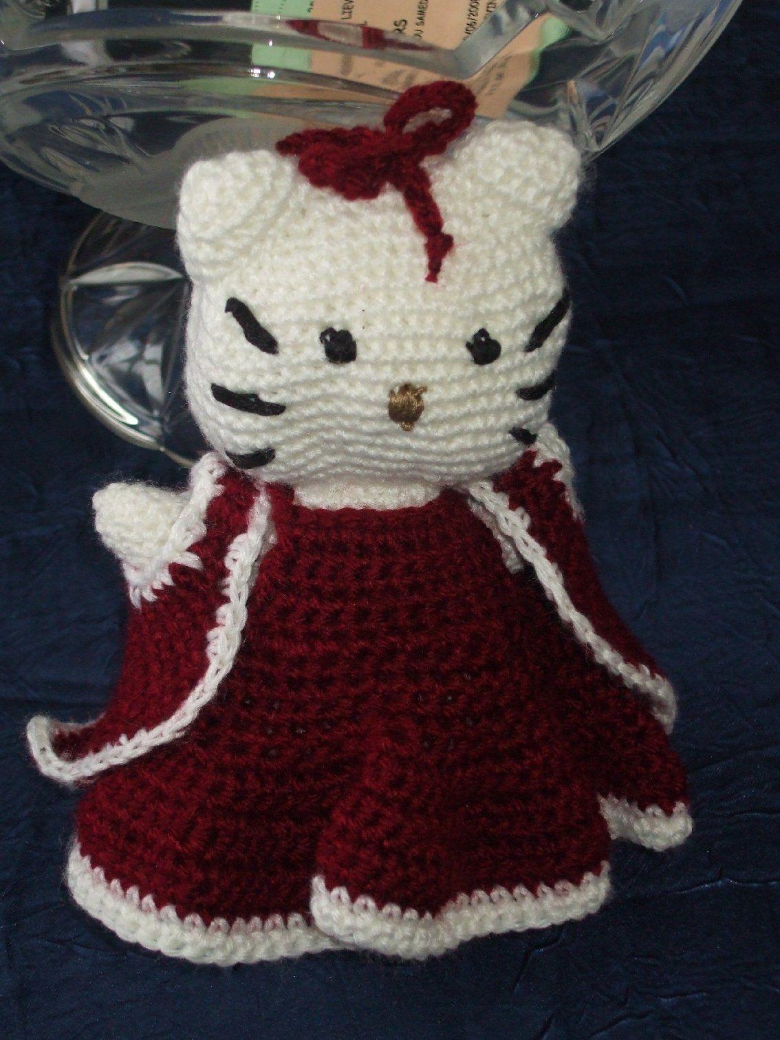 Kitty - Sujets de noel au crochet gratuit ...